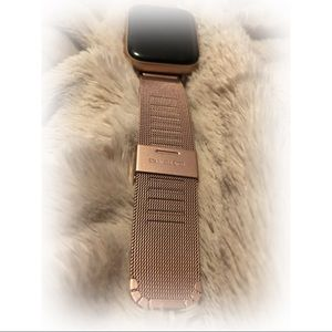 New heydey Rose Gold/Ballet Pink Apple Watch Band